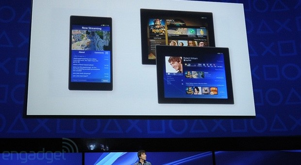 PS4 tendrá app social para tablets y su PS Vita
