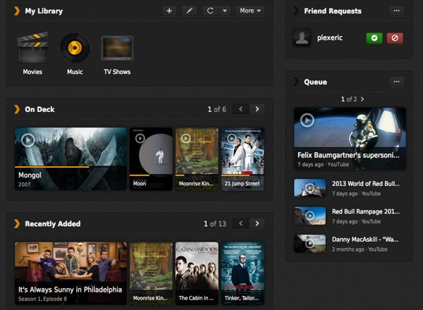 Plex actualiza el servidor, la aplicacin para Windows 8 y la aplicacin web