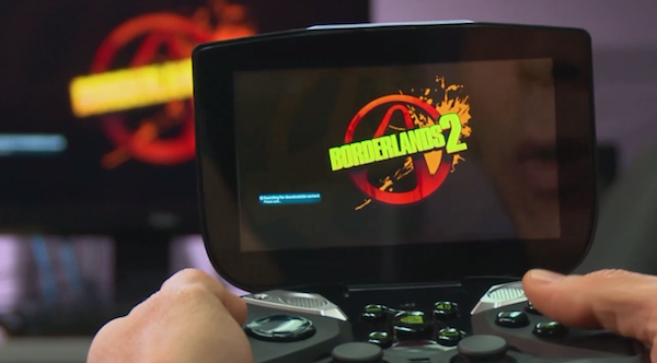 NVIDIA deja ver las capacidades de Project Shield con Boderlands 2