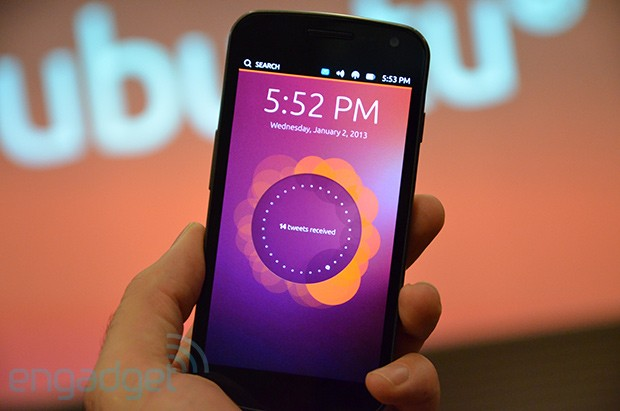 La preview tctil de Ubuntu para smartphones llegar el 21 de febrero con el Galaxy Nexus y el Nexus 4 como embajadores