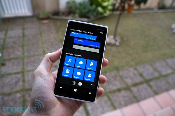 WhatsApp para Windows Phone se actualiza a lo grande: Notificaciones en la pantalla de bloqueo, men Metro y mucho ms