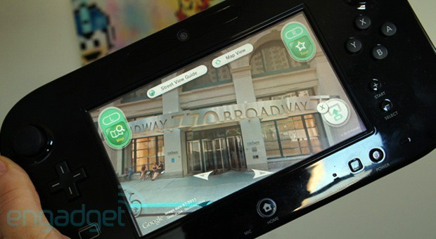 Google Maps con street view para Wii U