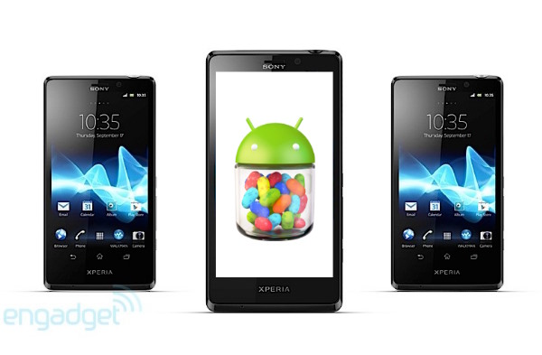 Android 4.1 Jelly Bean empieza a aterrizar en los Xperia 2012