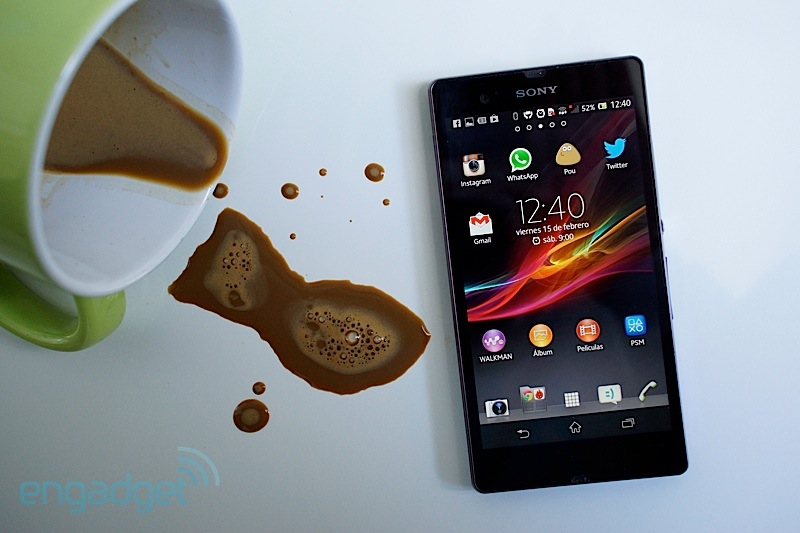 Sony Xperia Z, anlisis