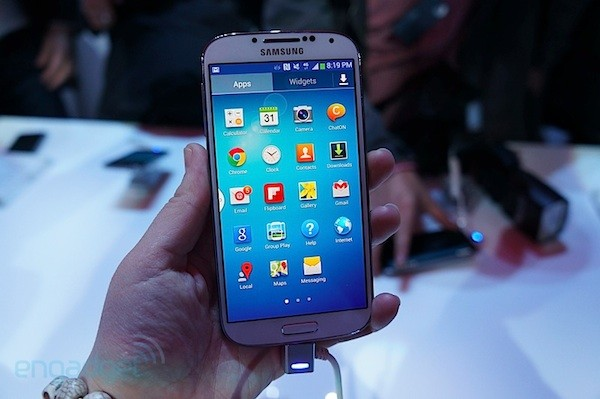 Samsung Galaxy S 4 disponible en espaa a finales de abril con procesador tetra ncleo a 1,9 GHz y LTE