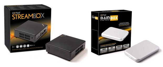 Zotac StreamBox y RAIDbox llegan para potenciar las capacidades multimedia de tu laptop o dispositivo Android