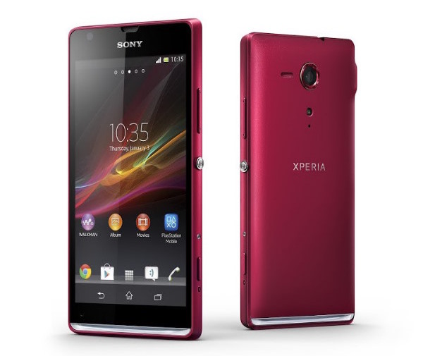 Sony Xperia SP oficial: 4,6'' y cámara de 8 MP (vídeo)