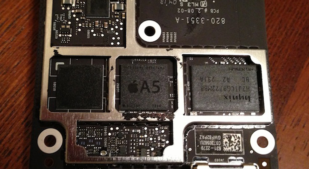El ltimo Apple TV integra un chip A5 ms pequeo, avivando los rumores sobre un alejamiento de Samsung
