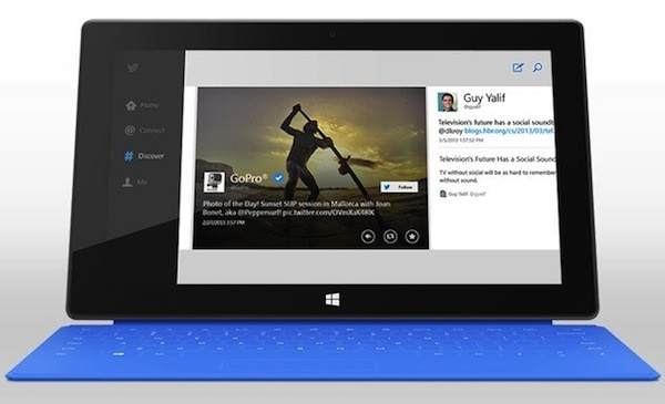 Aplicación oficial de Twitter para Windows 8 ya disponible