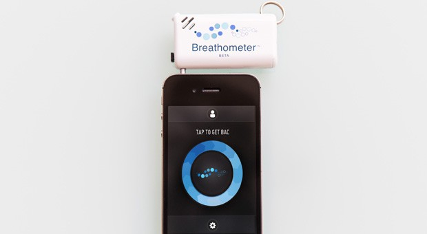 Breathometer, alcoholmetro de bolsillo para usuarios de iPhone y Android