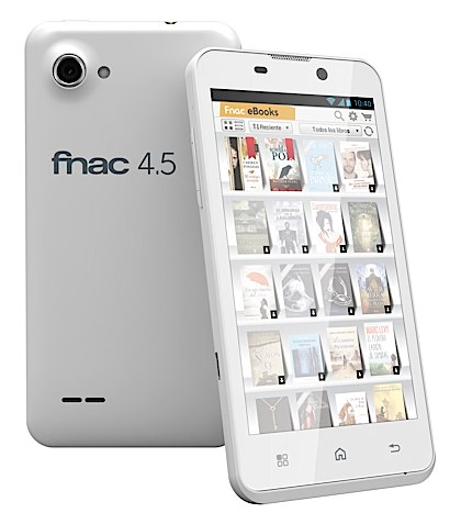 Fnac Phablet 4.5 aterriza en Espaa por 179 euros