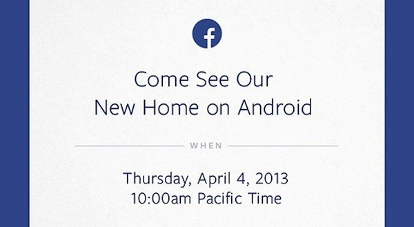 Facebook invita a un evento Android a celebrarse el 4 de abril