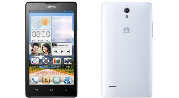 Huawei Ascend G700 aparece por sorpresa como la versin econmica del D2
