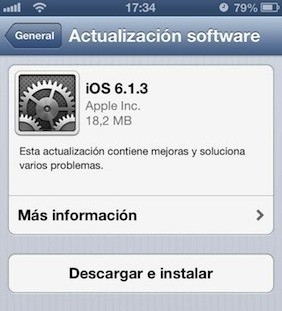 iOS 6.1.3 tiene un nuevo bug en la pantalla de bloqueo (con video)