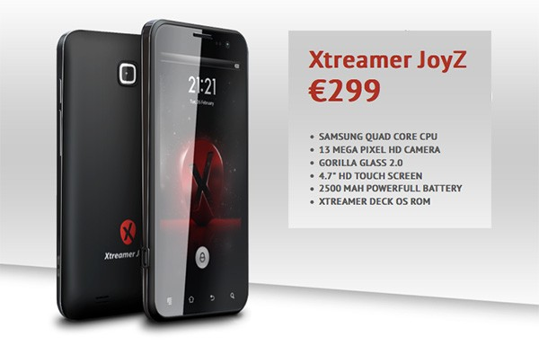 Xtreamer JoyZ: 4,7