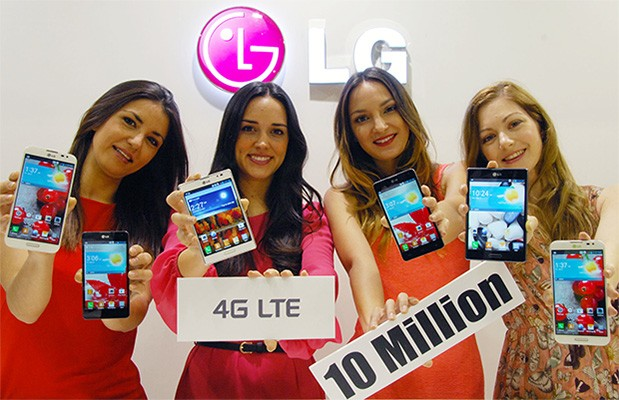 LG anuncia que ha vendido 10 millones de smartphones LTE en todo el mundo