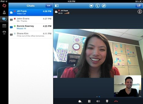 Microsoft Lync 2013 ya disponible para Windows Phone y próximamente en iOS