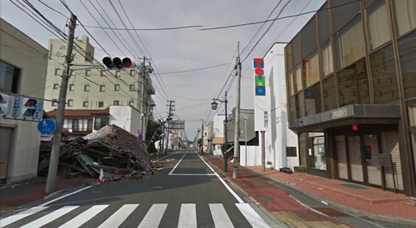 Google Street View se adentra en las poblaciones abandonadas de Fukushima