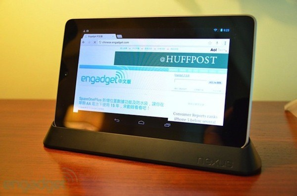La base del Nexus 7 aparece en la Google Play Store de algunos pases