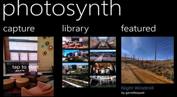 Microsoft lanza Photosynth para WP8, totalmente integrada en el software de cámara