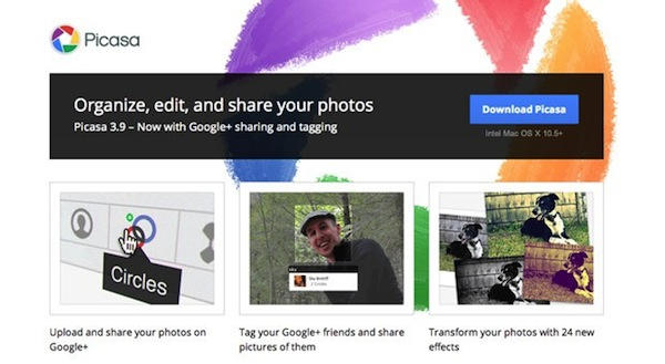Google empieza a redireccionar Picasa a los lbumes de Google+