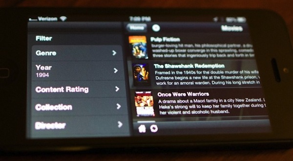 Plex para iOS 3.1 convierte a tu dispositivo en un servidor multimedia