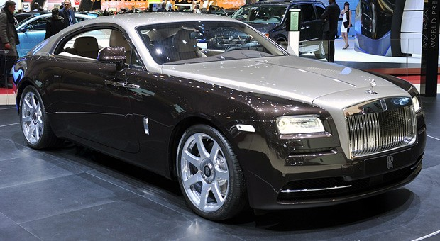 Rolls-Royce Wraith, el coche que cambia de marchas usando el GPS
