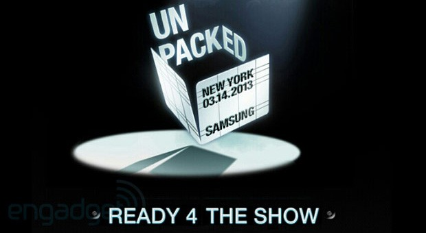 En directo desde el evento Samsung Unpacked 2013