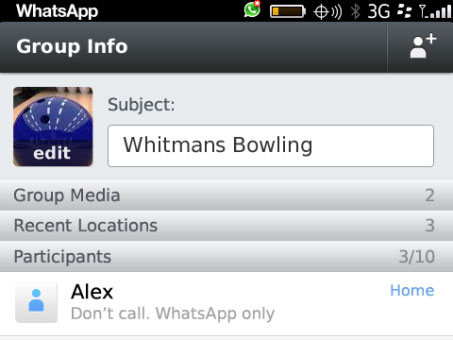 WhatsApp para BlackBerry 10 ya disponible para descarga