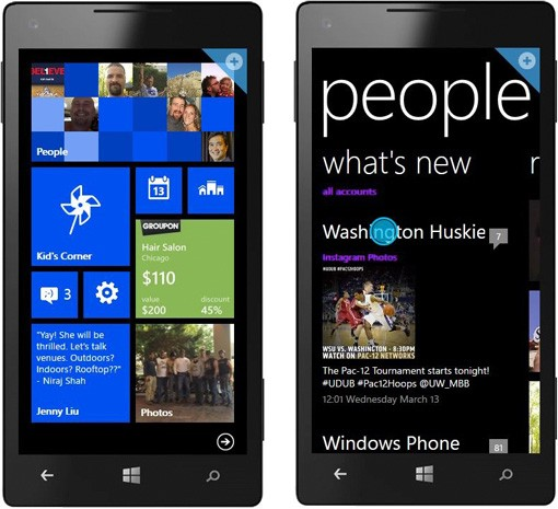 Microsoft 'actualiza' su web demo a Windows Phone 8 para animar a los usuarios a dar el salto
