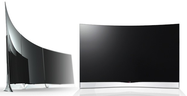 LG lanzar su OLED TV curvada de 55 pulgadas en junio
