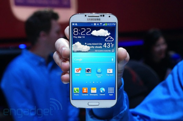 Samsung Galaxy S 4, disponible en todo el mundo el 27 de abril