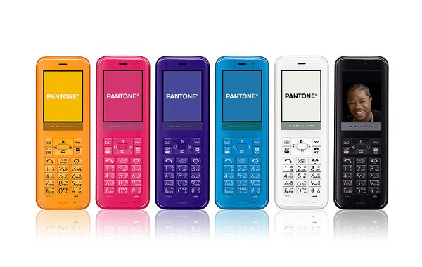 Sharp Pantone WX03SH, el telfono Bluetooth que habla con el telfono que tienes en el bolsillo
