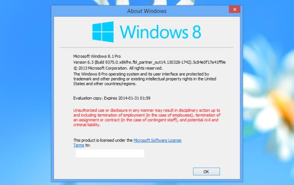 Windows Blue se llamar... Windows 8.1?
