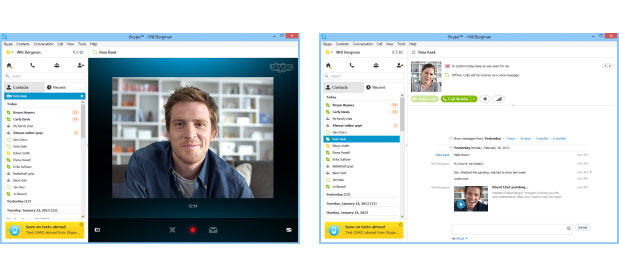 Skype aade mensajes de vdeo para el contestador en Windows