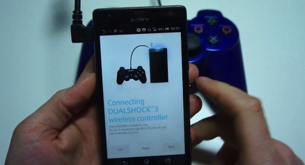 Ser posible usar tu DualShock 3 con mviles Xperia
