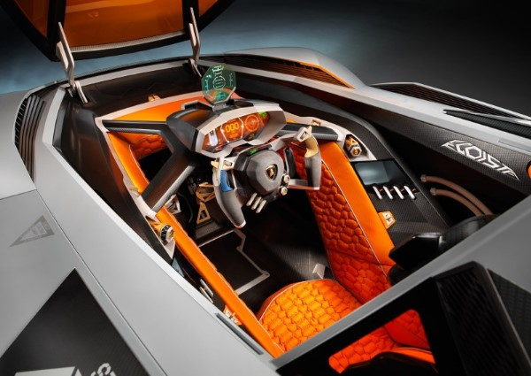 Lamborghini Egoista: mitad Decepticon, mitad TIE-Fighter