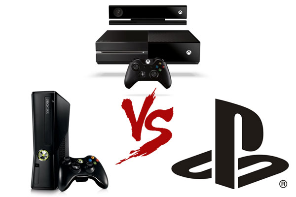 Xbox One se enfrenta a Xbox 360 y PS4