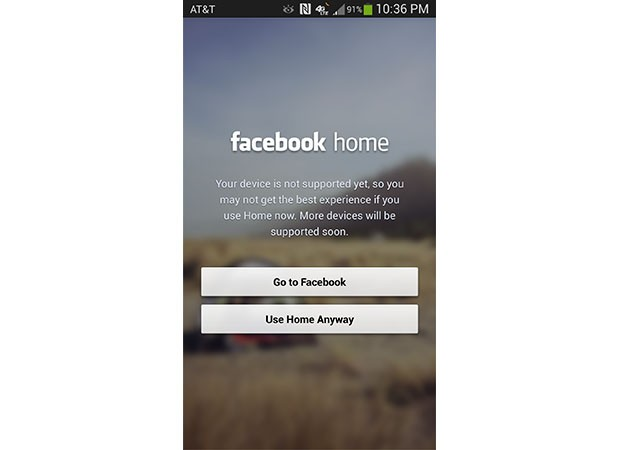 Facebook Home ya oficial en HTC One y puede usarse en el Galaxy S 4 (extraoficialmente)