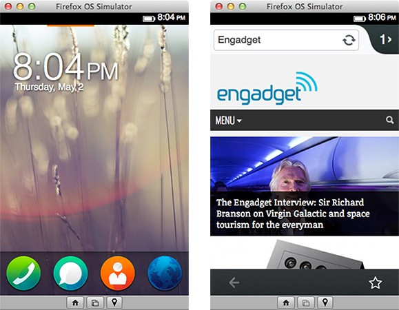 Firefox OS Simulator 3.0 ya disponible en su versión final