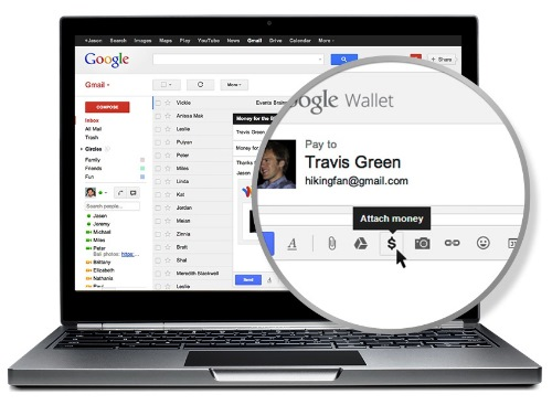 Gmail te dejar adjuntar dinero en tus mensajes (con la ayuda de Google Wallet)