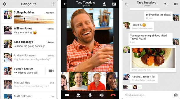 Google+ Hangouts se integrar con tus mensajes SMS