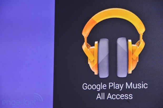 Google Play Music All Access anunciado oficialmente