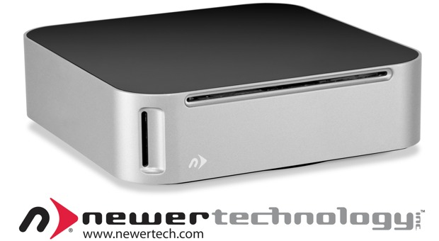 NewerTech echa un cable al Mac mini con un DVD integrado, 4 TB y lector de tarjetas