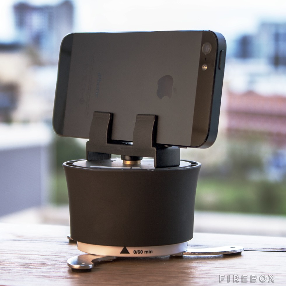 Smartphone Time Lapse Turntable, para que tus fotos panormicas sean perfectas