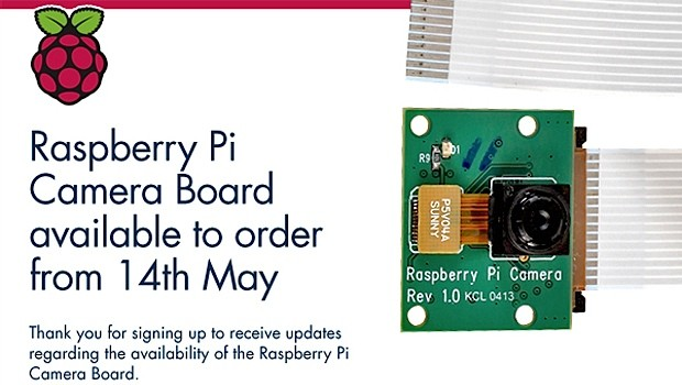 Raspberry Pi contar con un mdulo cmara el 14 de mayo en el Reino Unido