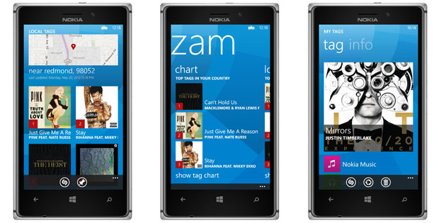 shazam windows phone 8 xbox music nokia