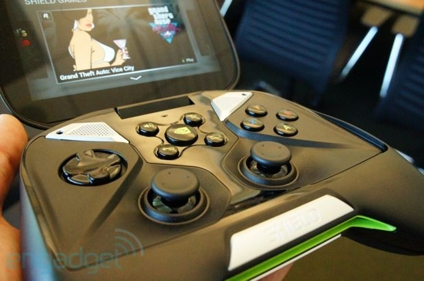 NVIDIA Shield posa con garbo ante la cmara