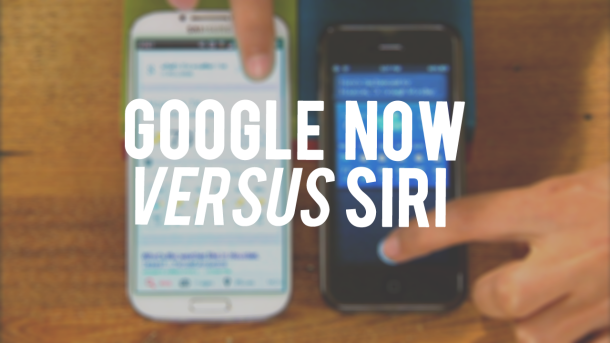 Google Now y Siri se ven las caras con la ayuda de un Galaxy S 4 y un iPhone 5 (vídeo)