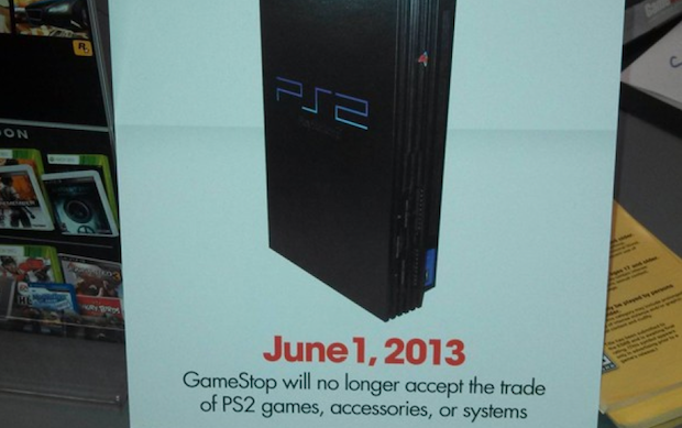 GameStop no aceptar la entrega de la PS2 como pago a partir del 1 de junio